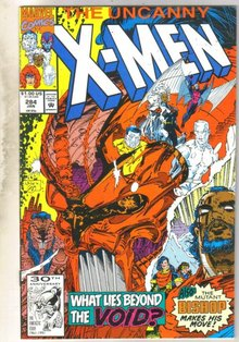 Uncanny X-men #284 comic book near mint 9.4