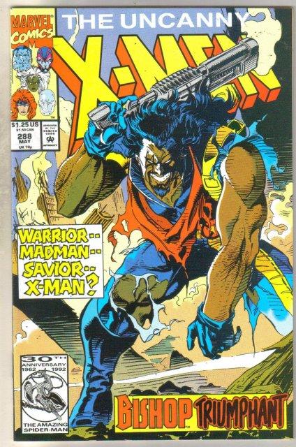 Uncanny X-men #288 comic book mint 9.8