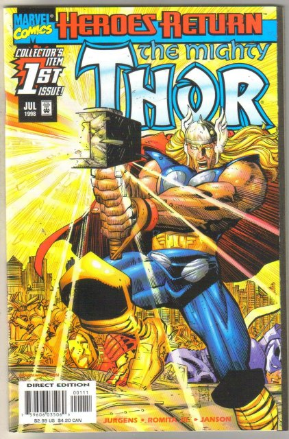 Mightyy Thor volume 2 #1 comic book mint 9.8