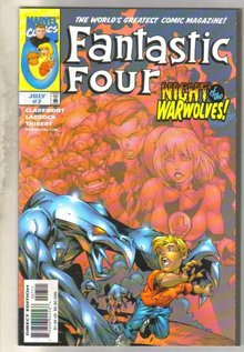 Fantastic Four Volume 3 #7 comic book mint 9.8