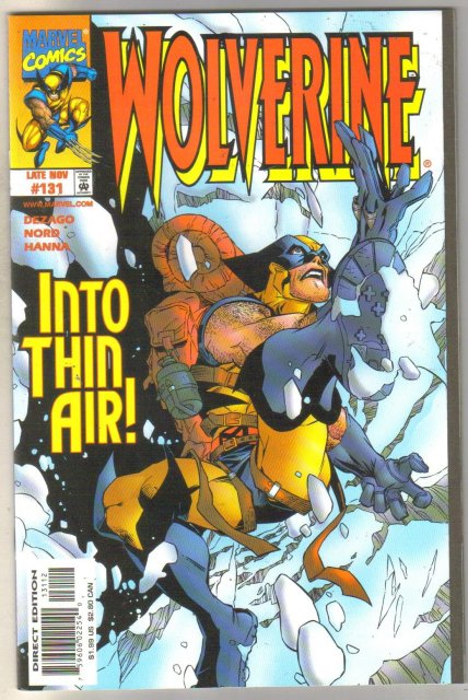 Wolverine #131 comic book mint 9.8