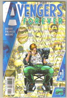 Avengers Forever #1 comic book mint 9.8