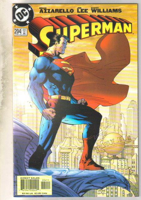Superman #204 comic book mint 9.8