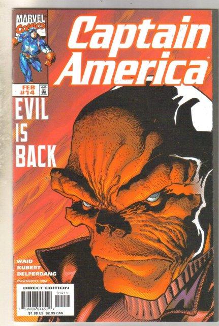 Captain America #14 comic book mint 9.8