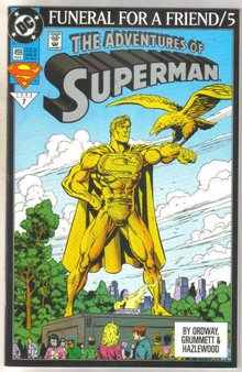 Superman #499 comic book mint 9.8