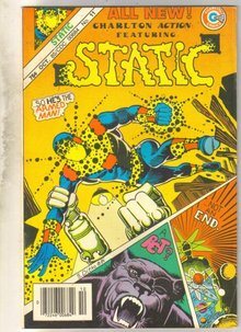 Static #11 comic book very fine 8.0