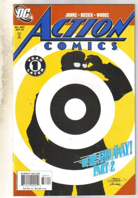 Action Comics #837 comic book mint 9.8