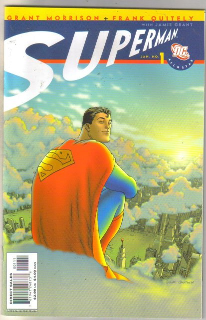 All-Star Superman #1 comic book mint 9.8