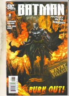Batman Journey Into Knight #8 comic book mint 9.8