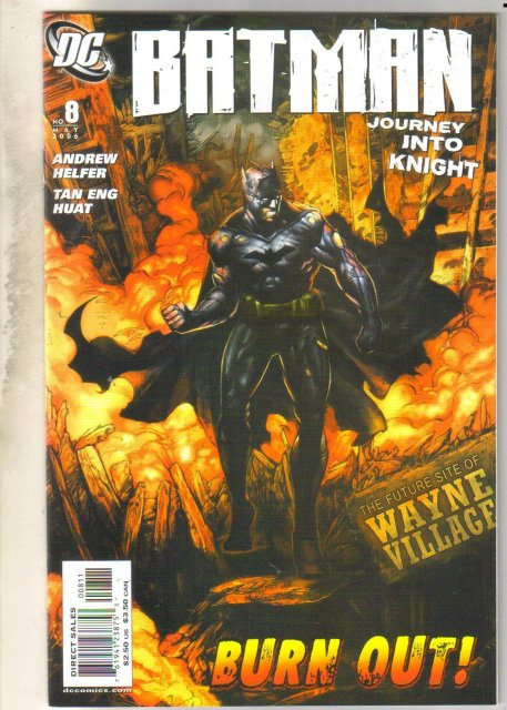Batman Journey Into Knight #8 comic book mint 9.8