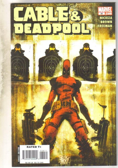 Cable & Deadpool #38 comic book near mint 9.4