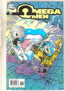 Omega Men #6 comic book near mint 9.4
