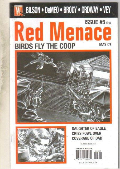 Red Menace #5 comic book near mint 9.4