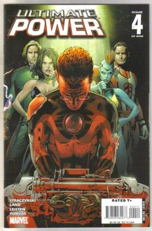 Ultimate Power #4 comic book near mint 9.4