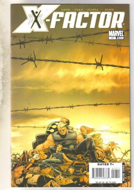 X-factor #17 comic book mint 9.8