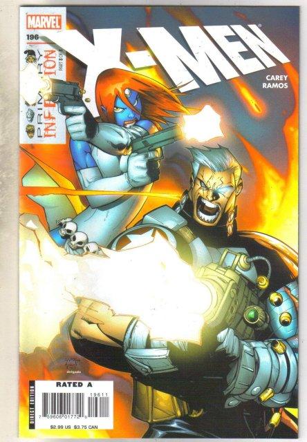 X-men #196 comic book mint 9.8