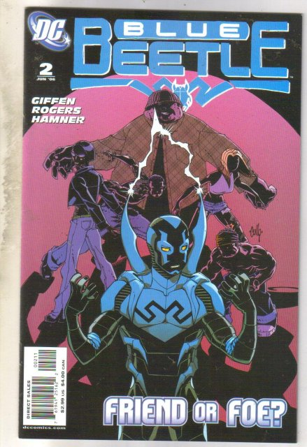 Blue Beetle #2 comic book near mint 9.4