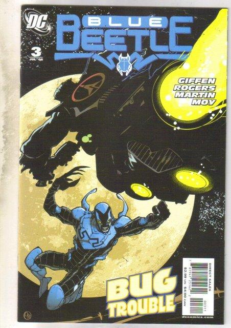 Blue Beetle #3 comic book near mint 9.4