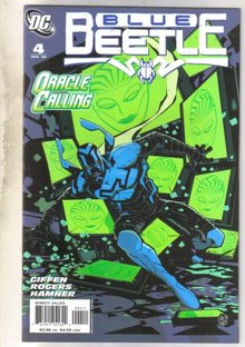 Blue Beetle #4 comic book near mint 9.4