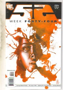 52 Week #44 comic book near mint 9.4
