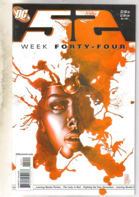 52 Week #44 comic book near mint 9.4