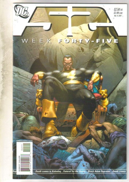 52 Week #45 comic book near mint 9.4