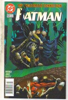 Batman #532 comic book near mint 9.4
