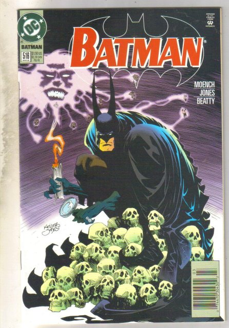 Batman #516 comic book near mint 9.4