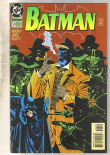Batman #518 comic book near mint 9.4