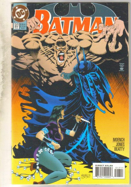 Batman #517 comic book near mint 9.4