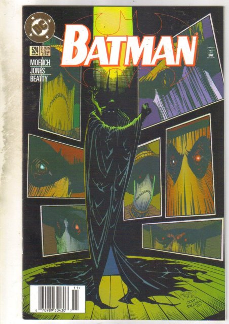 Batman #524 comic book near mint 9.4