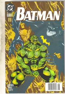 Batman #521 comic book near mint 9.4