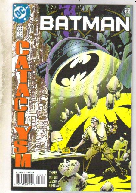 Batman #553 comic book near mint 9.4