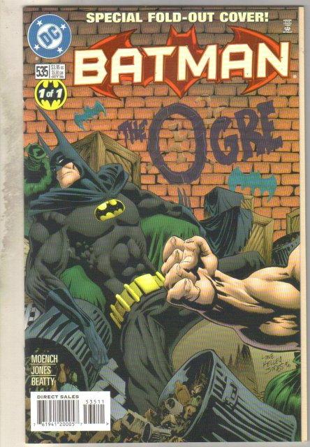 Batman #535 comic book near mint 9.4