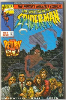 Spectacular Spider-man #250 comic book  near mint 9.4