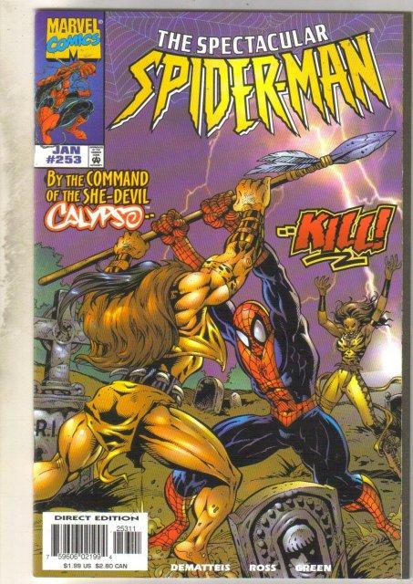 Spectacular Spider-man #253 comic book  near mint 9.4