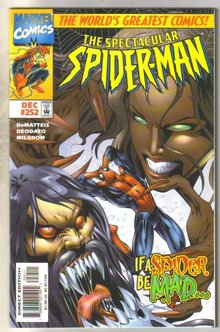 Spectacular Spider-man #252 comic book  near mint 9.4