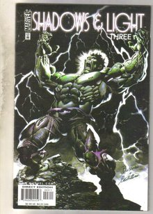 Shadows and Light #3 comic book near mint 9.4