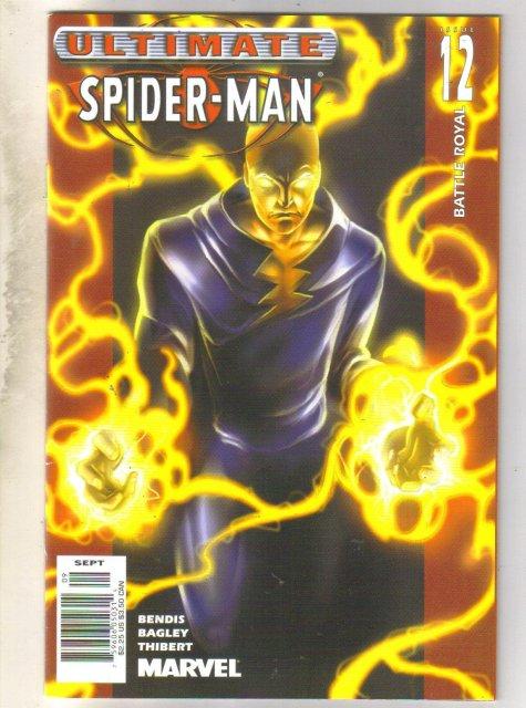 Ultimate Spider-man #12 comic book near mint 9.4