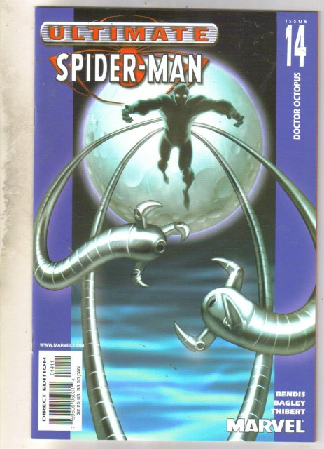 Ultimate Spider-man #14 comic book near mint 9.4