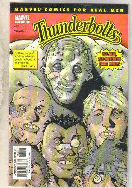 Thunderbolts #76 comic book mint 9.8