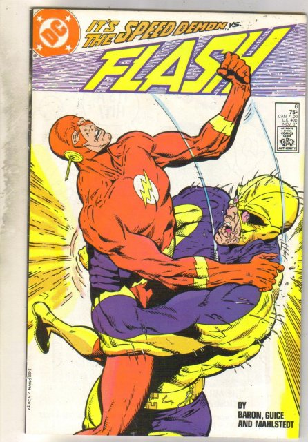 Flash #6 comic book very fine 8.0