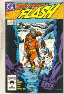 Flash #7 comic book very fine 8.0