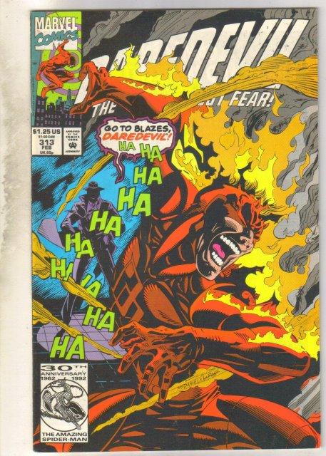 Daredevil #313 comic book very fine 8.0