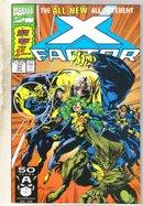 X-factor #71 comic book near mint 9.4