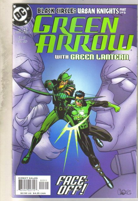 Green Arrow #23 comic book mint 9.8