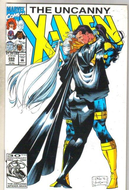 Uncanny X-men #289 comic book mint 9.8