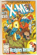 Uncanny X-men #298 comic book mint 9.8
