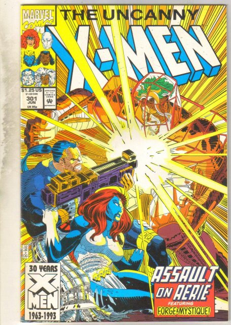 Uncanny X-men #301 comic book mint 9.8