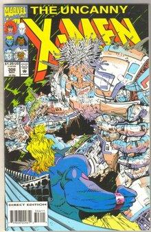 Uncanny X-men #306 comic book mint 9.8